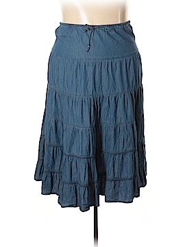 White Stag Denim Skirt Size 16