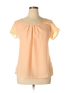 Sami & JO Short Sleeve Blouse Size 1X (Plus)