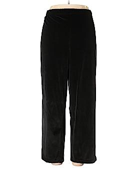 Roaman's Velour Pants Size 22 (1X) (Plus)