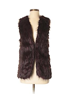 Sebby Faux Fur Vest Size S