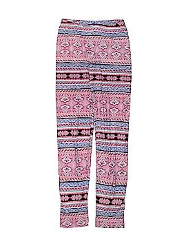 Pink Rose Leggings Size 10 - 12