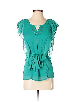 A. Byer Short Sleeve Blouse Size S