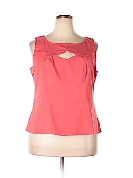 ModCloth Sleeveless Blouse Size 2X (Plus)