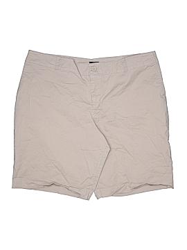 Mossimo Khaki Shorts Size 22 (Plus)