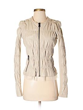 Twin-Set Simona Barbieri Faux Leather Jacket Size S