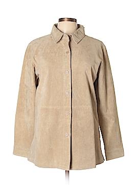 Jessica Holbrook Leather Jacket Size M
