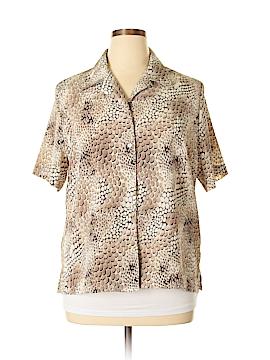 Alia Short Sleeve Blouse Size 16 (Petite)
