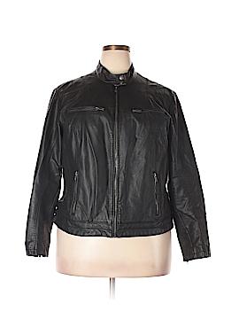 Xhilaration Faux Leather Jacket Size 1X (Plus)