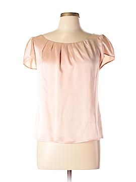 Gerard Darel Short Sleeve Silk Top Size 12 (44)