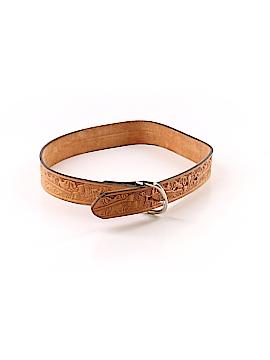 Tony Lama Leather Belt 28 Waist