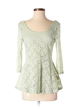 Decree 3/4 Sleeve Top Size M