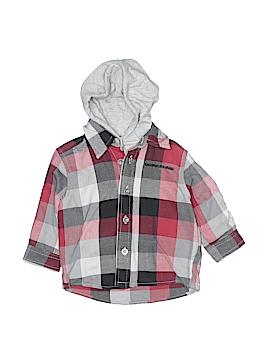 CALVIN KLEIN JEANS Long Sleeve Button-Down Shirt Size 6-9 mo