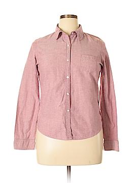 Jordache Long Sleeve Button-Down Shirt Size 15