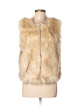 KLD Signature Faux Fur Vest Size S