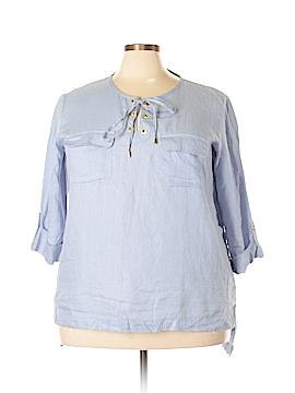 Company Ellen Tracy 3/4 Sleeve Blouse Size XXL
