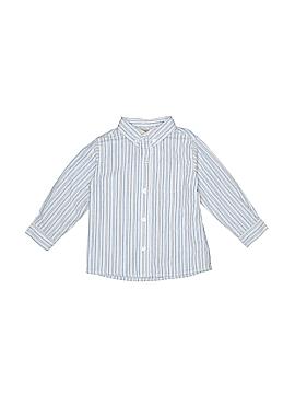 Miniwear Long Sleeve Button-Down Shirt Size 48 mo