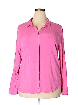 Tribal Long Sleeve Button-Down Shirt Size XXL