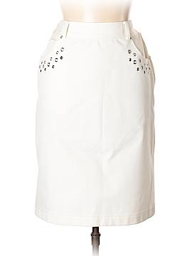 St. John Sport Denim Skirt Size 8