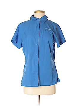 Columbia Short Sleeve Button-Down Shirt Size M
