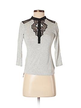 Karen Millen 3/4 Sleeve Top Size Sm (2)
