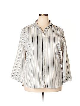 UNITI 3/4 Sleeve Blouse Size 3X (Plus)