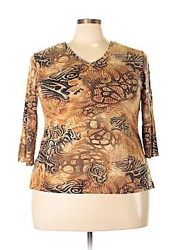 Stonebridge 3/4 Sleeve T-Shirt Size 1X (Plus)