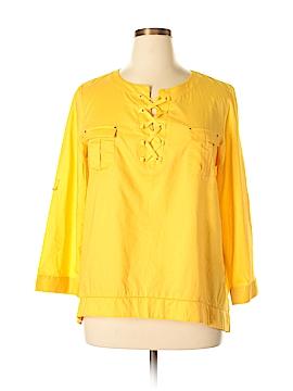 Anne Klein 3/4 Sleeve Blouse Size XL