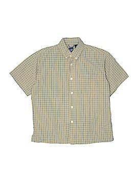 Gap Short Sleeve Button-Down Shirt Size 7 - 8
