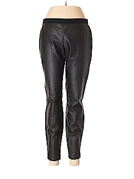 Calvin Klein Faux Leather Pants Size 10