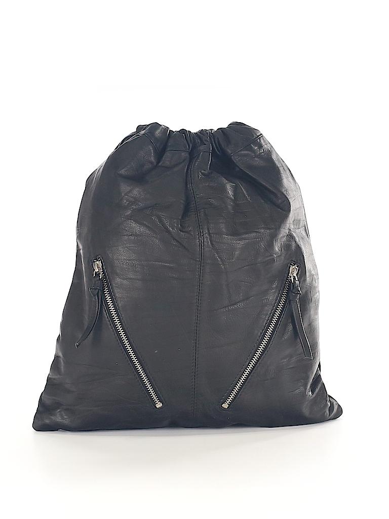 1503d753242 ASOS Solid Black Backpack One Size - 38% off   thredUP