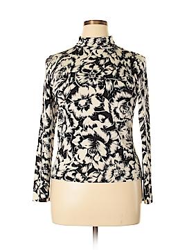 Talbots Silk Pullover Sweater Size L (Petite)