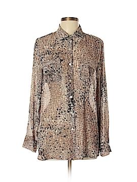 Quintessential Long Sleeve Button-Down Shirt Size L
