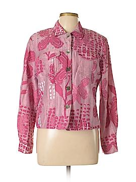 Sandy Starkman Silk Blazer Size L