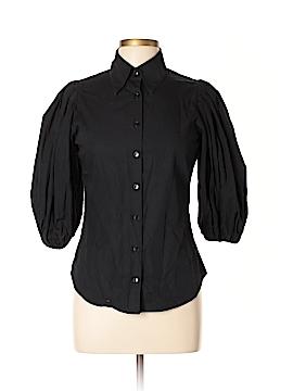 Anne Fontaine 3/4 Sleeve Button-Down Shirt Size 40 (EU)