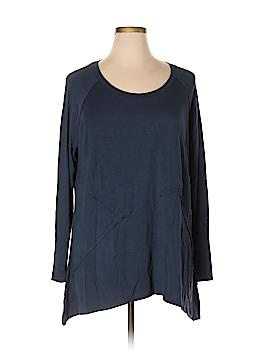 Simply Vera Vera Wang Long Sleeve Top Size 1X (Plus)