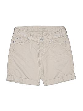 7 For All Mankind Khaki Shorts 25 Waist