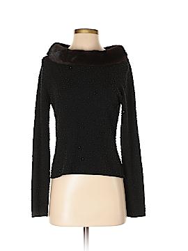 Chetta B Silk Pullover Sweater Size S