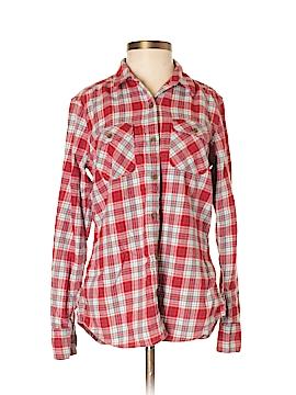 Eddie Bauer Long Sleeve Button-Down Shirt Size 2