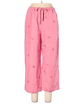 Hearts of Palm Woman Linen Pants Size 8