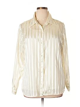 Jaclyn Smith Long Sleeve Blouse Size 1X (Plus)