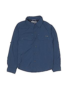 Columbia Long Sleeve Button-Down Shirt Size 4 - 5