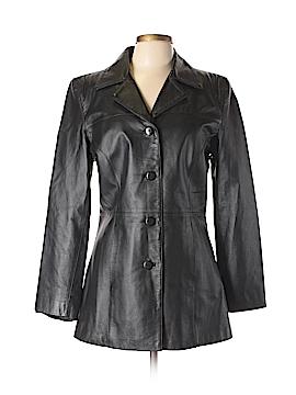 Clio Leather Jacket Size 10