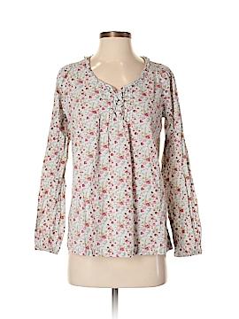 Bit & Bridle Long Sleeve Button-Down Shirt Size S