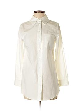 Soft Surroundings Long Sleeve Button-Down Shirt Size XS