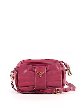 Prada Leather Crossbody Bag One Size