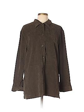 R&K Originals Long Sleeve Button-Down Shirt Size 12