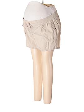 Old Navy - Maternity Khaki Shorts Size XL (Maternity)
