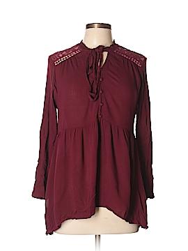 Taylor & Sage Long Sleeve Blouse Size L