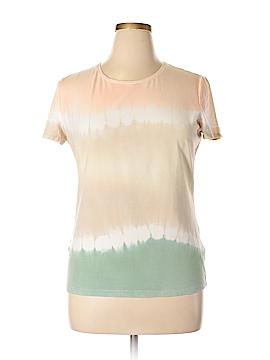 Lafayette 148 New York Short Sleeve T-Shirt Size XL