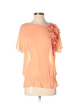 Ted Baker London Short Sleeve Blouse Size 4 (1)